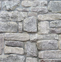 White Stone Wall Royalty Free Stock Images