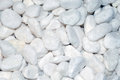 White stones as background for decoration texture Royalty Free Stock Image