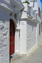 White street Royalty Free Stock Photo