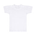 White t-shirt isolated Royalty Free Stock Photo