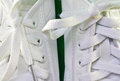 White tennis shoes Royalty Free Stock Photo