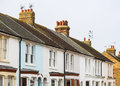 White Terrace Houses Royalty Free Stock Photo