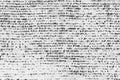White texture with black asymmetrical dots Royalty Free Stock Photo