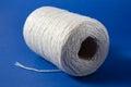 White Thread Isolated On White...