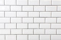 White tile wall Royalty Free Stock Photo