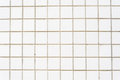 White tile wall background Royalty Free Stock Photo