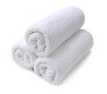 White towel Royalty Free Stock Photo