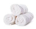 White towels Royalty Free Stock Photo