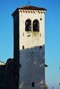 White tower, Castello, in Conegliano Veneto, Italy Royalty Free Stock Photo