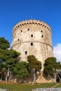 White tower, Thessaloniki, Greece Stock Photos