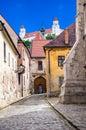 White towers of Bratislava castle