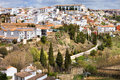 White Town of Ronda Stock Photography
