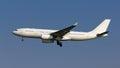 White Untitled Plane Royalty Free Stock Photo