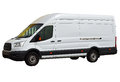 A White Van .Isolated With PNG File Included Royalty Free Stock Photo