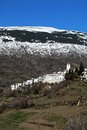 White village, Capileira, Andalusia, Spain. Stock Photos