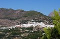 White village frigiliana andalusia view of and surrounding countryside malaga province andalucia spain western europe Royalty Free Stock Photo
