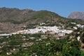 White village, Frigiliana, Andalusia.