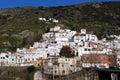 White village, Torvizcon, Andalusia, Spain. Royalty Free Stock Photo