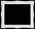 White  Vintage Style Frame Royalty Free Stock Photo