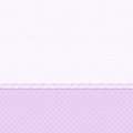 White and violet polka dot background Stock Photos