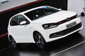 White vw polo gti Royalty Free Stock Photos