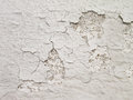 White wall with cracks texture Stock Images