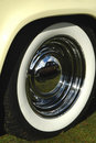 White walled tire Stock Images