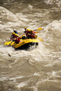 White water rafting in nepal central Stock Images