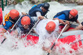 White water rafting Royalty Free Stock Photo