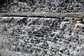 White waterfall background Royalty Free Stock Photo