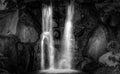 White Waterfall Royalty Free Stock Photo
