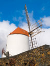 White windmill Royalty Free Stock Photo