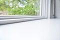 White Windowsill