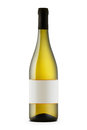 White wine bottle Royalty Free Stock Photo