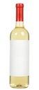 White wine bottle Royalty Free Stock Photo