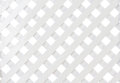 White wooden lattice Royalty Free Stock Photo
