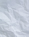 White wrinkle paper close up pure texture Stock Image