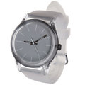 White wrist watches isolated on Stock Photos