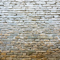 Whitewash old stone wall texture Stock Image