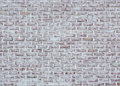 Whitewashed brick wall texture Royalty Free Stock Photo