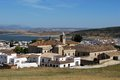 Whitewashed village, Bornos, Andalusia, Spain. Royalty Free Stock Photo