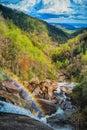 Whitewater Falls Royalty Free Stock Photo