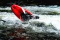 Whitewater Kayaking Royalty Free Stock Photo