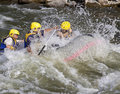 Whitewater rafting Stock Photography