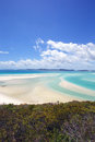 Whitsunday Island Beach Australia Royalty Free Stock Photo