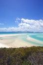 Whitsunday Island Beach Australia Royalty Free Stock Photo