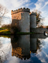 Whittington Castle in Shropshire Stock Photography