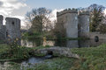 Whittington castle shropshire near oswestry united kingdom Royalty Free Stock Photos