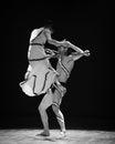 Who control who errand into the maze modern dance choreographer martha graham in december shi feifei dancer work session held in Stock Photos