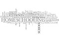 Who Said Homeschool Is For Kids Only It S For Highschools Too Word Cloud Royalty Free Stock Photo